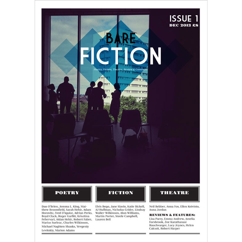 Bare Fiction Magazine Issue 1 Cover