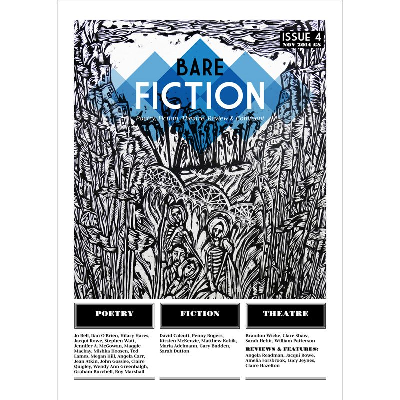 Bare Fiction Magazine Issue 4 Cover