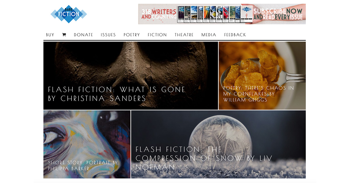 Bare Fiction Magazine | Literary Journal of Poetry, Stories